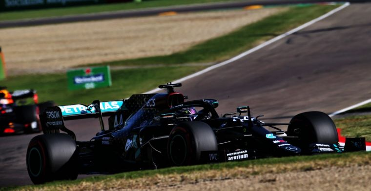Hamilton's first impressions of Imola leave something to be desired