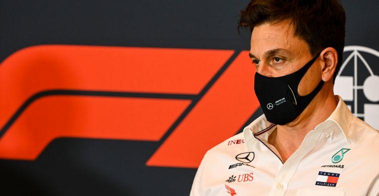 Wolff voelt niks voor nieuw plan Red Bull: 'Ondermijnt DNA van de Formule 1!'