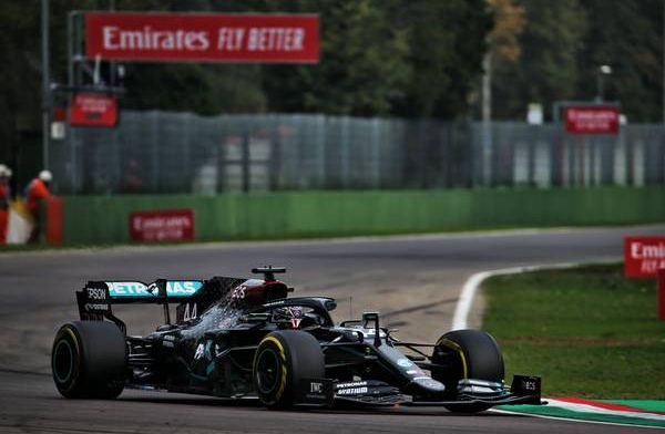 Hamilton wins to secure seventh consecutive championship for Mercedes!