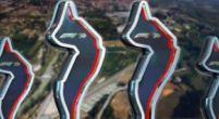 Image: Tribute to Ayrton Senna on trophies at Emilia Romagna GP
