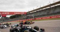Afbeelding: Hamilton worstelde achter Verstappen: 'Die raakten oververhit achter Max'