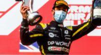 """Afbeelding: Ricciardo geniet na van zijn derde plek: """"Natuurlijk moest ik toen lachen"""""""