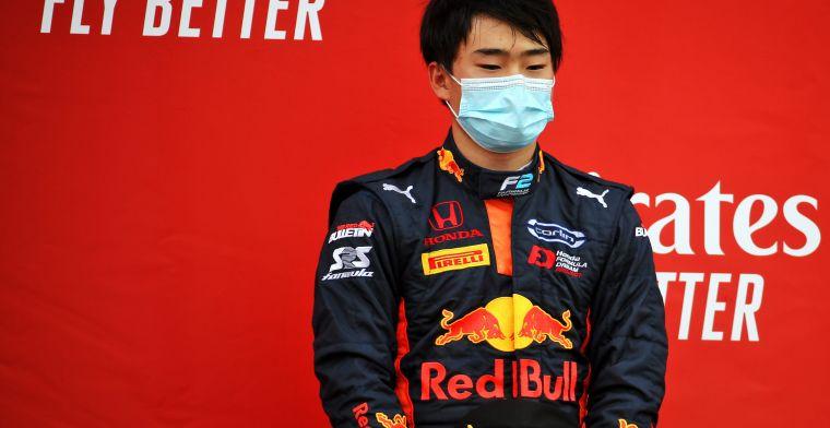 Tsunoda drives first Formula 1 metres for AlphaTauri