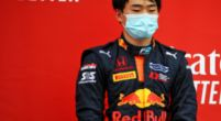 Image: Tsunoda drives first Formula 1 metres for AlphaTauri
