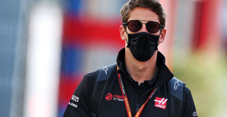 Grosjean: Russell was the only one who sent me a message