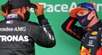 Afbeelding: Verstappen nog niet sneller dan Hamilton in de race: ''Ik betwijfel dat''