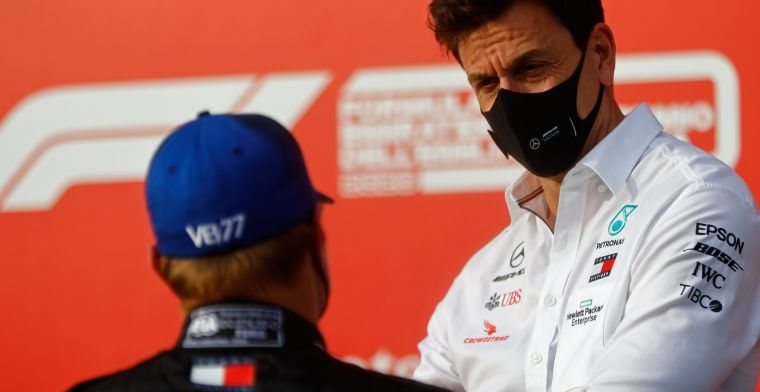 Wolff: 'I learned this from Prost and Senna'.