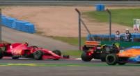 Afbeelding: Leclerc kan niet genoeg afremmen en tikt Ocon in de rondte