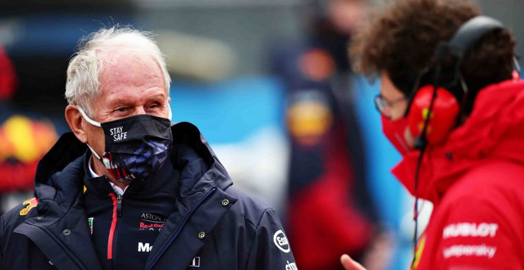 Marko on DRS timing: Not released when we were fast