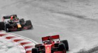 Afbeelding: Vettel erg blij met 'verrassende' podiumplaats na inhaalactie op Leclerc