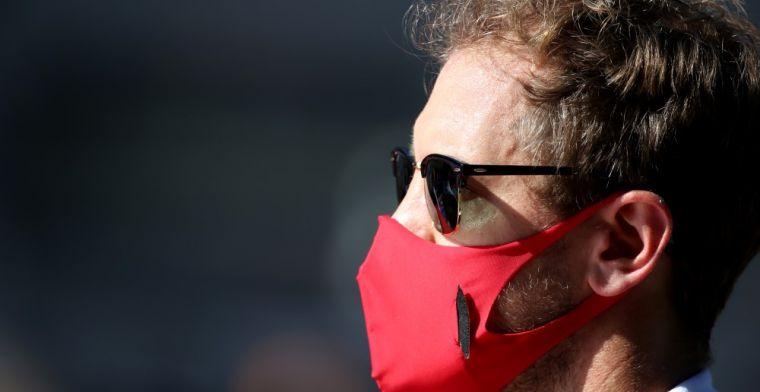 """Vettel boos op wedstrijdleiding: """"Deze fout is niet te tolereren"""""""