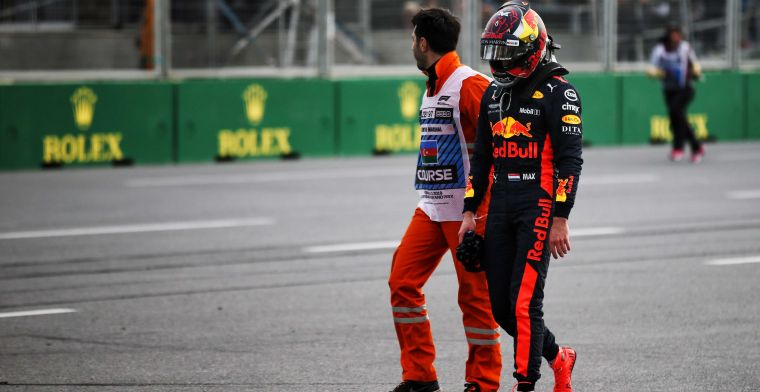 Verstappen in a list of lows: That was some positive thing about it
