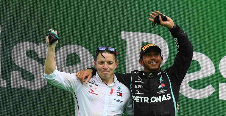 Hamilton immediately made an impression: It felt like a rock star walked in