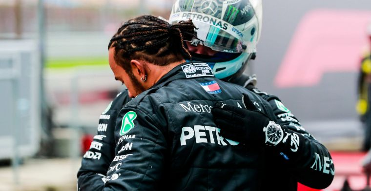 Difference between Bottas and Hamilton causes astonishment: 'Magical grip'