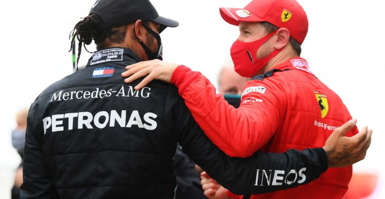 Hamilton persists: 'That is so frightening for the competition'