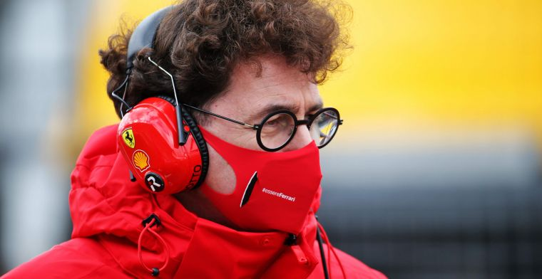 Ferrari hope to be on the same level as Renault and Honda in 2021