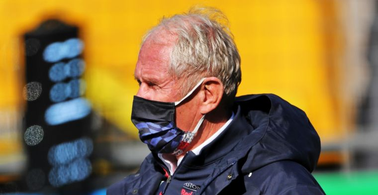 Marko: 'Daardoor kon Verstappen de banden niet opwarmen zoals hij wilde'
