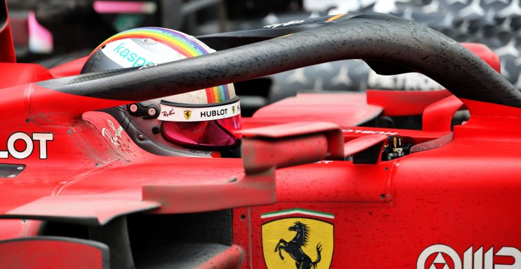 Vettel has a hard time at Ferrari: I notice that I have more doubts about myself