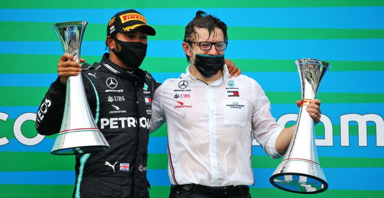 Hamilton even surprised his own racing engineer with victory in Turkey