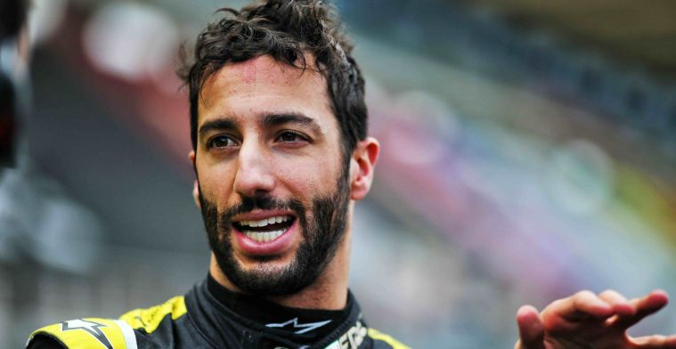 Ricciardo is looking forward to the heat: 'The weather was too cold for me!'