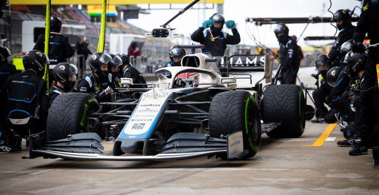 Williams kondigt andere opstelling aan voor eerste vrij training Bahrein