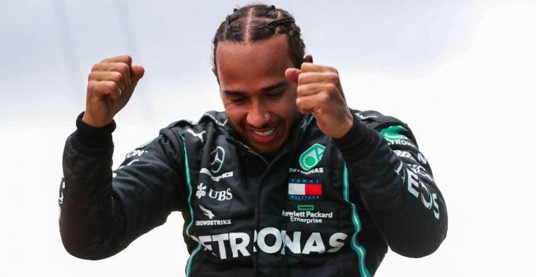 Hamilton: 'Dit was een van de cruciale momenten uit mijn carrière'