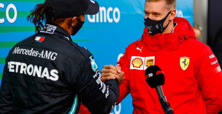 Schumacher gebruikt tips van zijn vader: 'Zelfs nog tips van het karten'