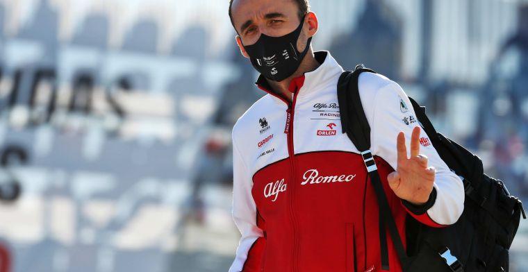 Kubica keert bij Alfa Romeo terug achter het stuur van een Formule 1-wagen