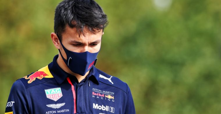 Announcement from Red Bull hints at longer stay for Albon?