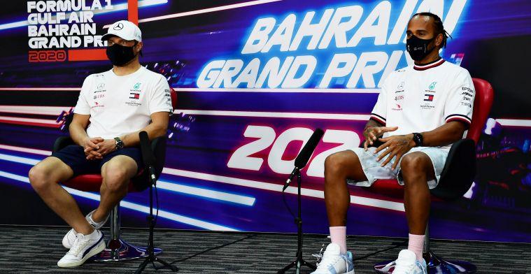 Hamilton defends Bottas: Not easy being my teammate