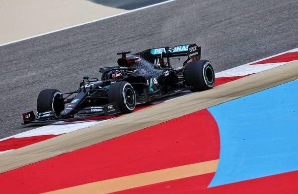 Mercedes dominate FP1 with Sergio Perez P3 in Bahrain