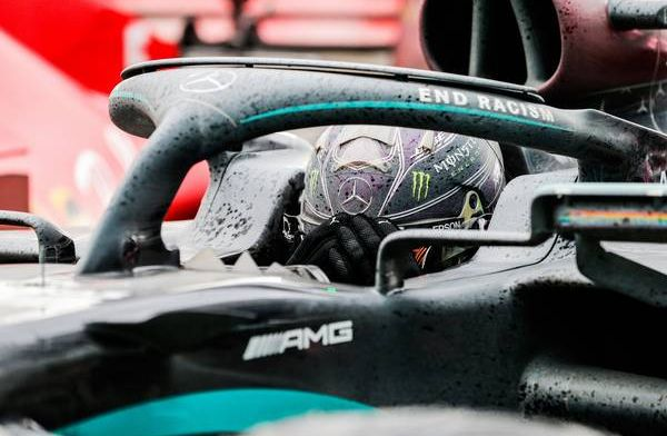 Hamilton not particularly happy with balance of the car after FP2 in Bahrain