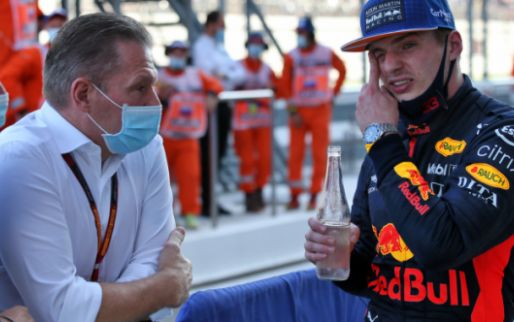 Jos and Max Verstappen provide hilarity after a painful mistake