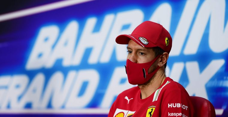 Vettel expects a long race on Sunday but has hopes for points