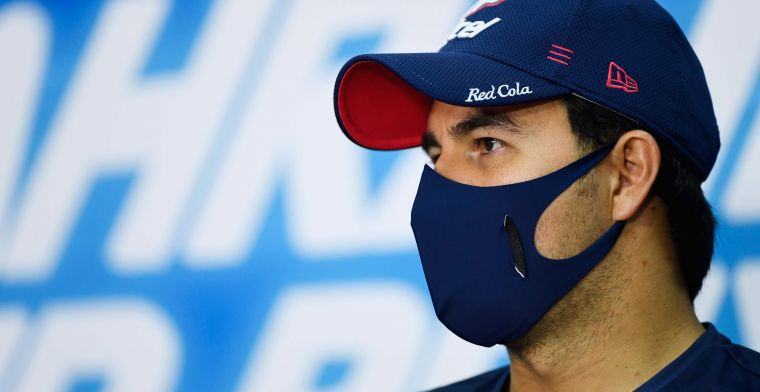 Perez has a view of Red Bull from P5: 'it will be a long race'