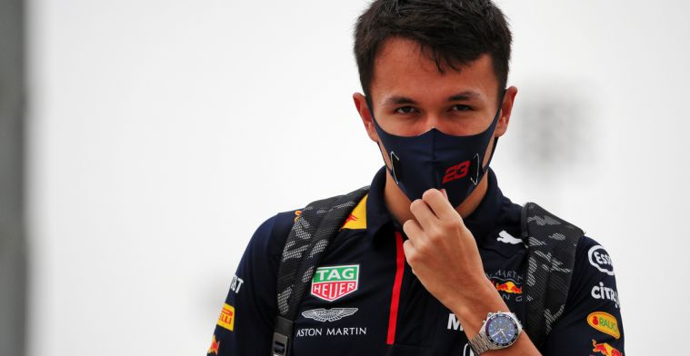 Albon: 'There's no point in continuing to think about that mistake'