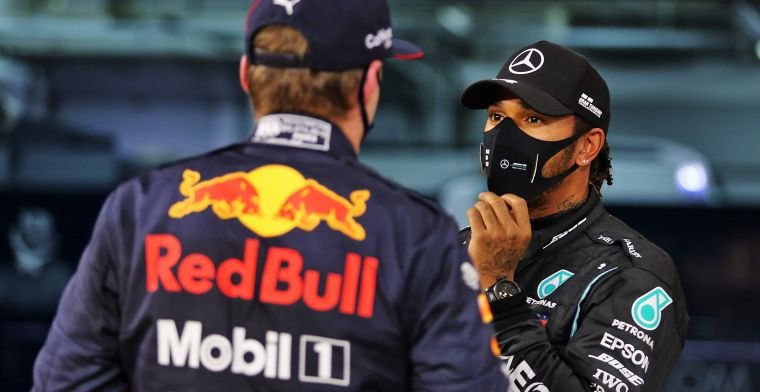 Verstappen talks to Hamilton about 2021 tyres: 'Thought I was having a hard time'