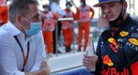 Image: Jos and Max Verstappen provide hilarity after a painful mistake