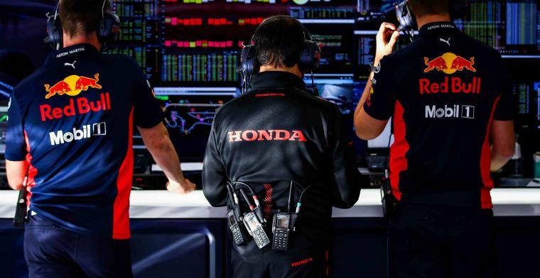 Honda spreekt van 'solide prestatie' Red Bull: 'Snelste ronde Max een bonus'
