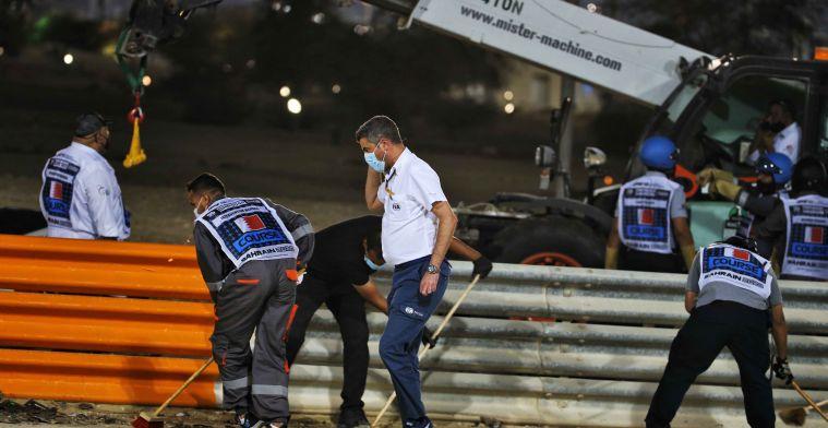 Masi confirms full investigation into Grosjean's accident