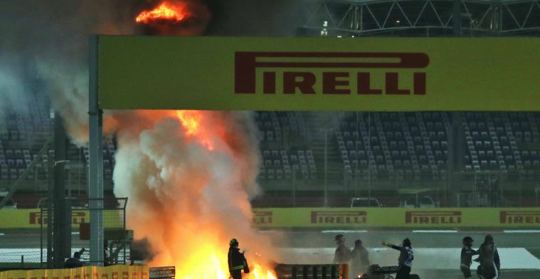 Vettel wilde crash niet zien: Ik heb geen idee hoe hij daaruit is gekomen