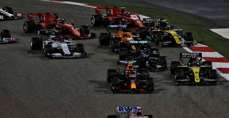 Volledige uitslag GP van Bahrein: Albon en McLaren profiteren van pech Perez