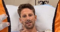 "Image: Grosjean responds for the first time: ""Would like to say I'm okay"""