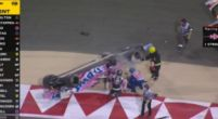 Image: Update | Images of Stroll's rollover after contact with Kvyat