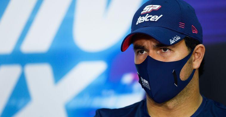 Update | Perez bevestigt 'plan B' voor 2021