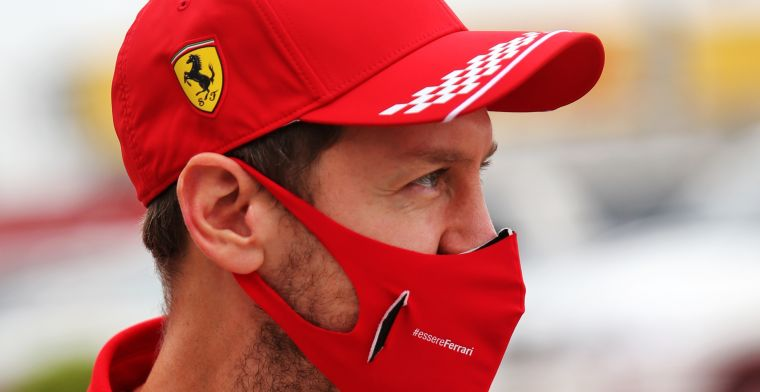 Vettel admits race was over after restart clash with Leclerc