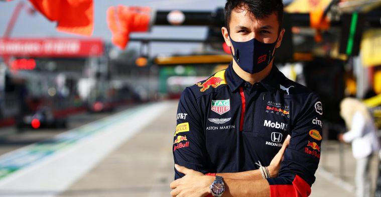 Albon 95 percent satisfied after podium in Bahrain Grand Prix