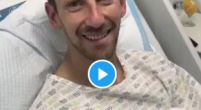 Image: Grosjean thanks people who helped him in video from hospital bed