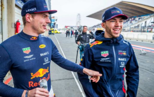 Verstappen understands Gasly: 'Better than chasing after your teammate'