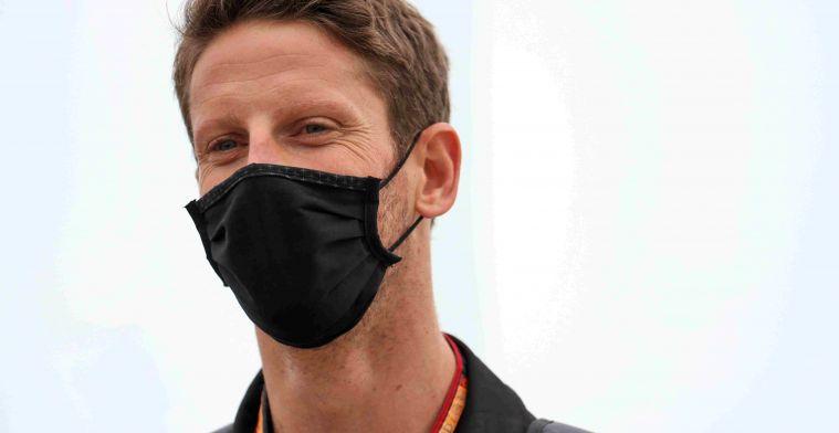 Extra nacht voor Grosjean in ziekenhuis, Steiner wil hem terug in Abu Dhabi